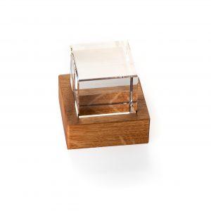 Glazen Blok en eiken