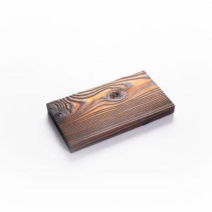 Gebrande plank